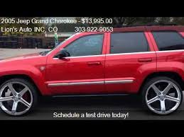 2005 grand jeep for sale 2005 jeep grand limited 4wd for sale in denver c