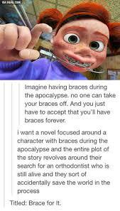 Braces Meme Girl - brace for it big random and humor