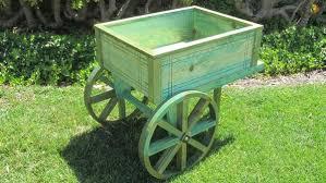 flower cart samsgazebos flower cart wood planter stand 30 quot l x 23 1