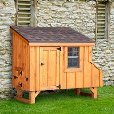 backyard chicken coops amish made 3w x 6l lean to chicken coop