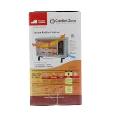 What Is Comfort Zone Mean Comfort Zone 5 120 Btu Electric Radiant Heater Gray Cz530wm