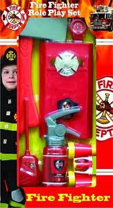 buy fire chief play kit career toy toddler child boys firefighter