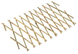 expanding bamboo trellis h 300mm w 1 8m departments diy at b u0026q