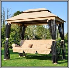 outdoor furniture swings canopy patios home decorating ideas