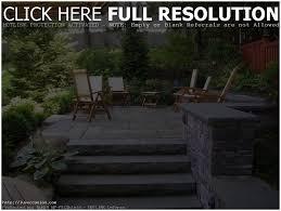 backyards terrific backyard flagstone patio ideas modern