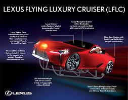 lexus new car warranty canada lexus sleighs the competition with hybrid transport for santa