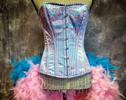 burlesque costume corsets by french market stitch by olgaitaly