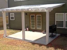 Waterproof Pergola Covers by A Spacious Scallop End Cut Ultra Lattice Pergola To Go With A
