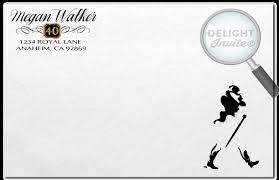 johnnie walker over the hill 40th birthday party invitations di