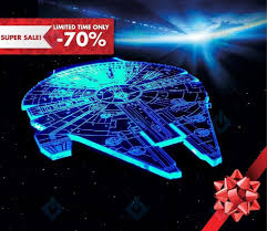 3d Lamps Amazon Amazon Com Millennium Falcon Star Wars Lighting Gadget Lamp Decor