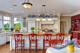 Blue Yellow Kitchen - popular red blue and yellow kitchen with blue and yellow country