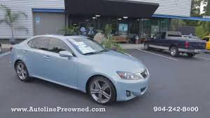 lexus sedan sale autoline preowned 2011 lexus is 250 for sale used walk around