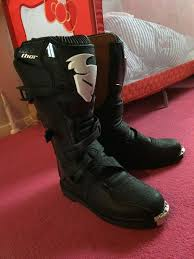 thor motocross boots thor motocross boots size 10 in trafford manchester gumtree