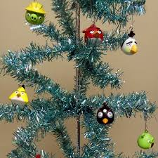 angry birds 16 tree ornament set
