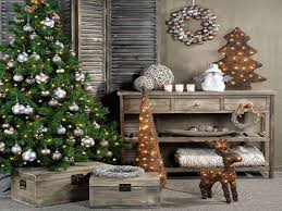 christmas dining room table decoration ideas rustic country
