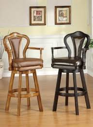 leather swivel bar stools u2013 lanacionaltapas com