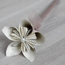 bouquet en papier unidart on topsy one