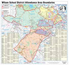 Map Of Berks County Pa Our District About Wilson Overview
