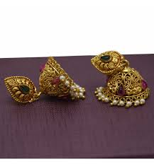 jhumka earrings beautiful 1 gram kemp jimikki jhumka earring buy online kollam supreme