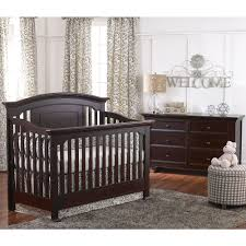 Convertible Crib Bed Rails by Baby Cache Windsor Lifetime Crib Espresso Baby Cache Babies