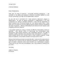 Teacher Cover Letter Nice Experienced Teacher Cover Letter U2013 Letter Format Writing