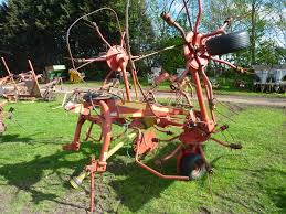 4773 niemeyer hr531 dh 4 rotor tedder