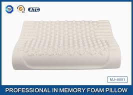 foam bed pillow massage wave contour latex foam bed pillows organic pillows with