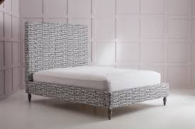 High Headboard Bed Modern High Headboard Upholstered Bed Lola Your Home