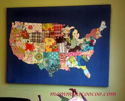Map Fabric Huge Fabric Us Map Hoop Art Timeless Treasures Usa Map Panel Map