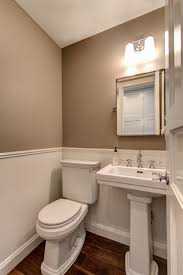 powder room in a brownstone renovation park slope brooklyn ben
