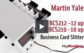 yale business card martin yale bcs212 tabletop 12up business card slitter