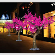 plants artificial tree trunk led cherry tree buy plants