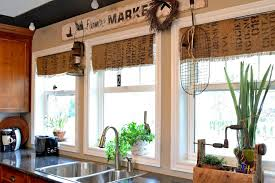 kitchen window treatment ideas pictures kitchen window treatments inside ideas plan 16 aswadventure
