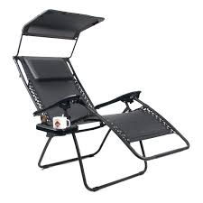 Zero Gravity Lounge Chair With Sunshade Xl Padded Zero Gravity Chair With Canopy Xl Zero Gravity Lounge