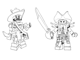 lego pirate coloring pirate party