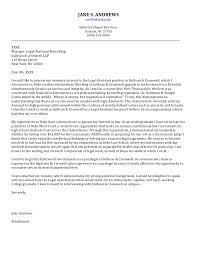 sample cover letter for law clerk position administrative
