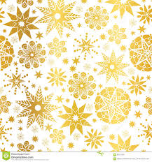 vector golden abstract doodle stars seamless pattern background