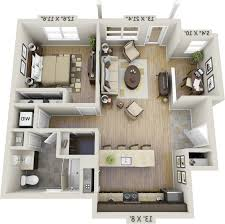 home design 79 astonishing one bedroom apartment floor planss