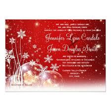 Christmas Wedding Invitations 149 Best Christmas Themed Wedding Invitations Images On Pinterest