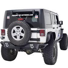 jeep prerunner bumper 07 16 jeep wrangler jk rear bumper