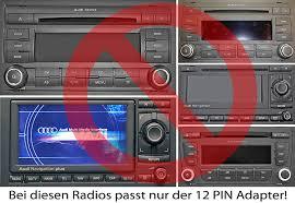 usb sd aux mp3 adaptor for audi with radios chorus 2 concert 1