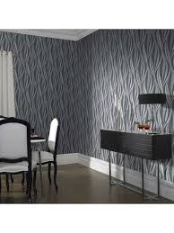 graham u0026 brown boutique tango geometric charcoal wallpaper house