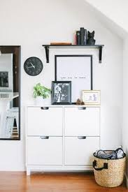 ställ shoe cabinet with 4 compartments white floor space