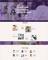wedding planner websites 37 free wedding website themes templates free premium templates