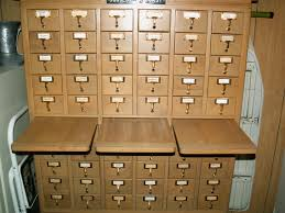 card catalog curled up with a book