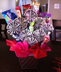 graduation gifts for boys money candy bouquet i made this for my niece as a gift for