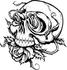 clever design scary halloween coloring pages halloween coloring