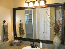 Bathroom Mirror Frame Kit Bathroom Mirrors With Frames Easywash Club