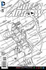 awesome free green arrow cartoon coloring pages for kids