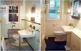 Before And After Small Bathrooms Bathroom Ideas Categories Ceiling Fans For Small Bathrooms